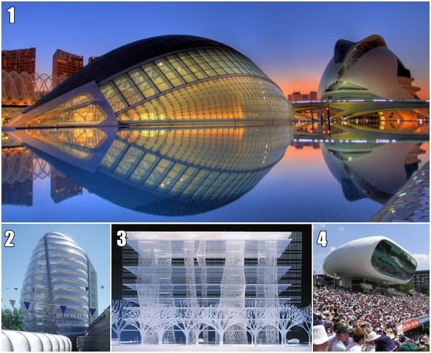 Ejemplos de arquitectura biónica
