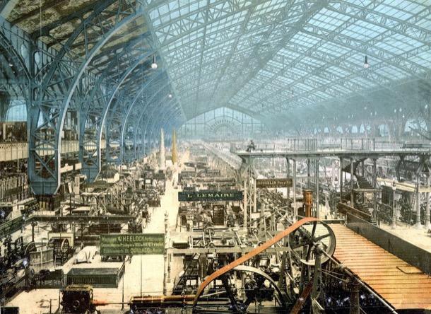 Galería de las Máquinas - París