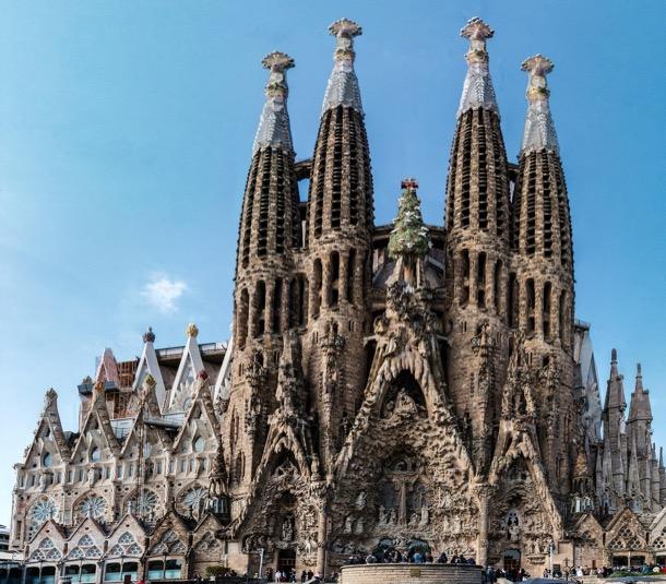 Fachada Sagrada Familia - Antoni Gaudí