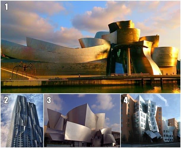 Arquitectura Deconstructivista de F. Gehry