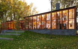 Residencia junto al Lago Farquar (Minnesota)