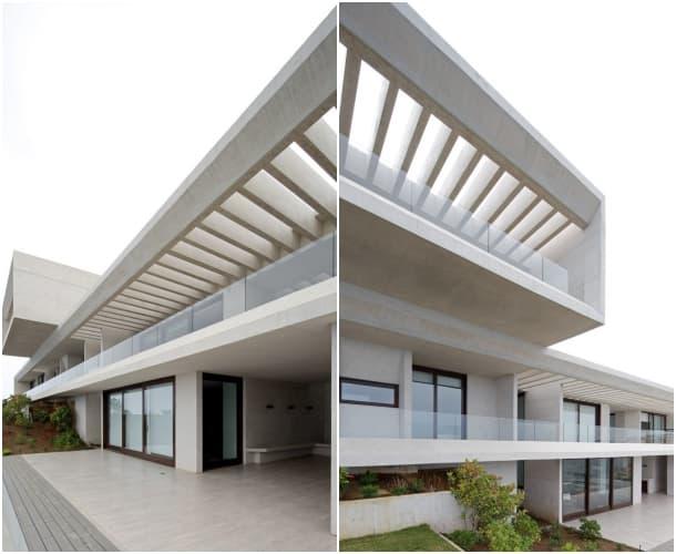casa aislada MO-fachadas