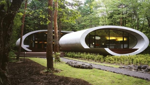 Residencia Shell: casa dentro de 2 tubos de hormigón