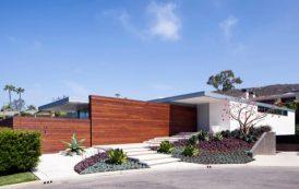 Residencia McElroy: con modernos jardines