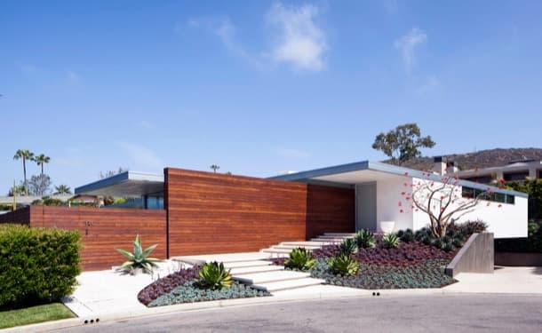 Jardines De Casas Modernas Cheap Decoracin De Jardines