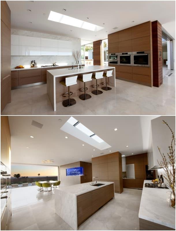 cocina Casa McElroy - Ehrlich Architects