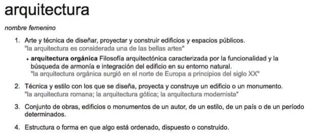 arquitectura qu es tipos de arquitectura y definiciones
