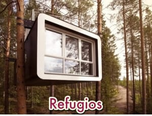 exterior refugio The Cabin prefabricado de madera00