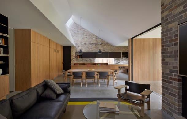 Skylight House: remodelación con varios lucernarios