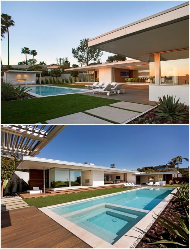 jardines piscina Casa McElroy - Ehrlich Architects