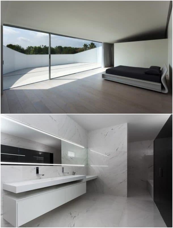 Balint House dormitorio principal