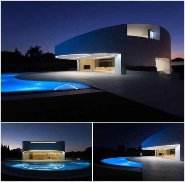 Casa de planta el ptica minimalista y con fachada de for Casa minimalista 2017