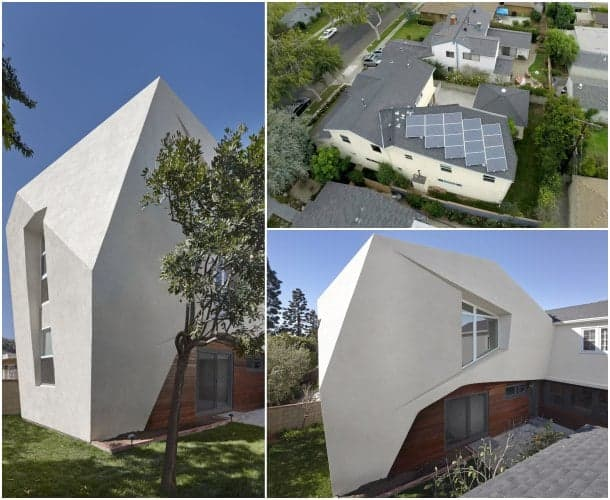 SLRSRF ampliación de vivienda fachada