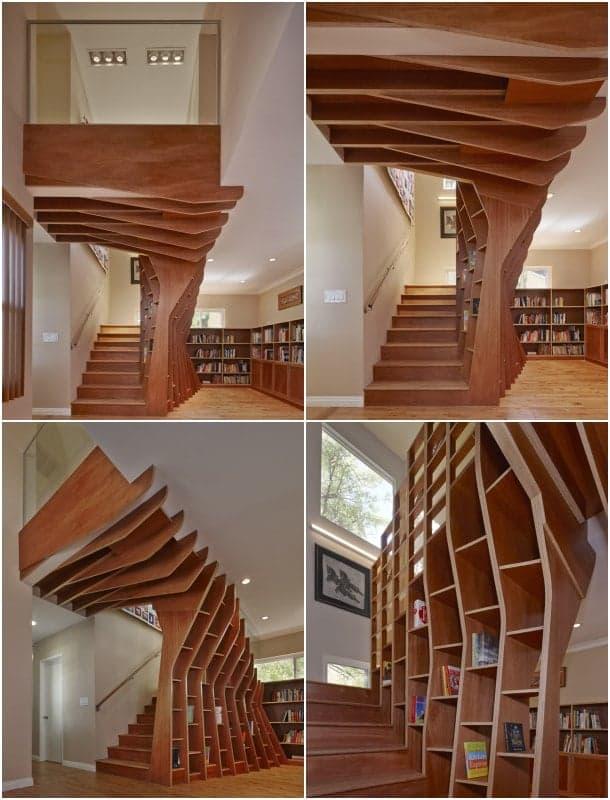 SLRSRF nueva escalera de madera