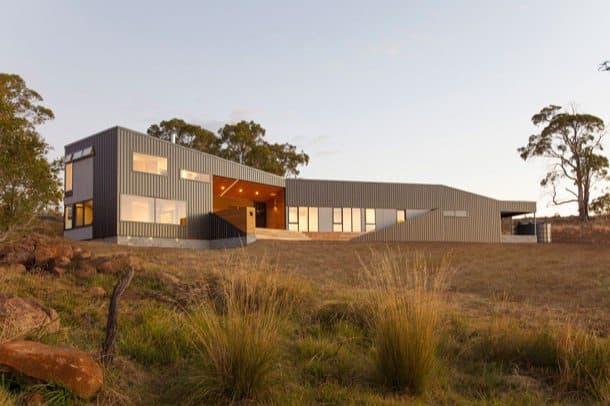 Valley House: casa solar en Tasmania