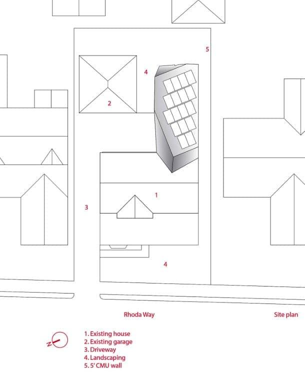 casa SLRSRF plano descripción edificios