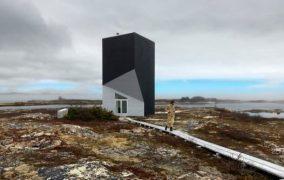 Tower Studio: refugio para un artista en la isla de Fogo
