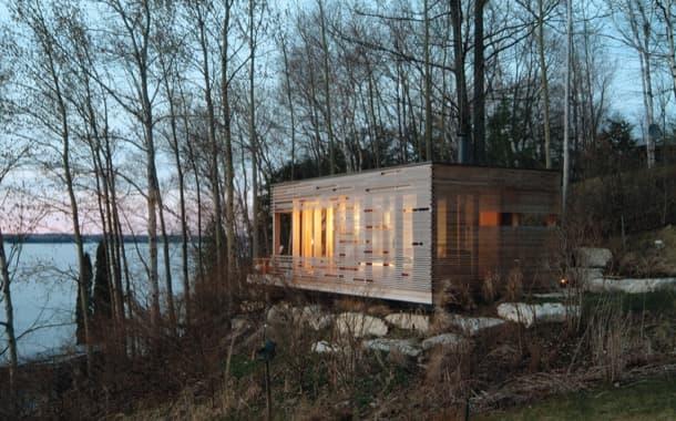 Refugio para ver atardeceres junto al lago Simcoe
