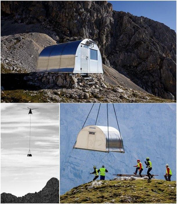 refugio prefabricado Bivak II