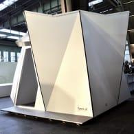 refugio prefabricado Fold Flat