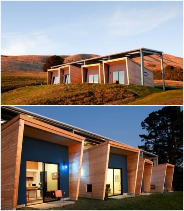 refugios de madera para artistas - CCS Architecture