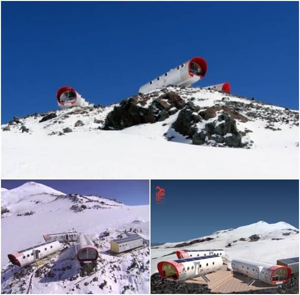 refugios alpinos prefabricados modulares LEAPrus3912
