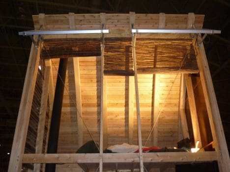 Refugio de madera aerieloft con estructura prefabricada - Refugios de madera prefabricados ...