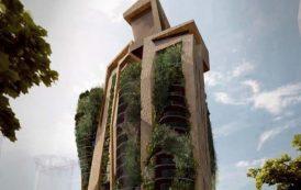 Agora Garden: torre de pisos para Taipéi