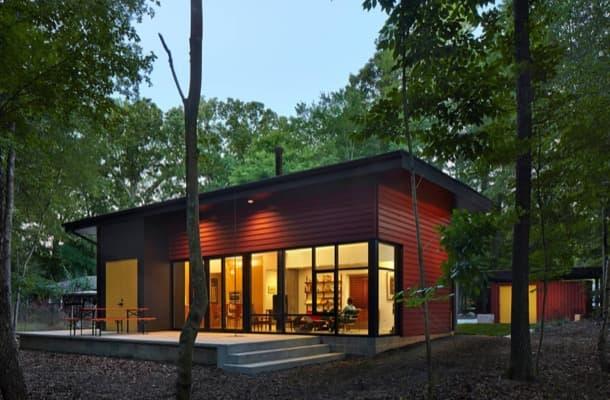 Residencia Aiyyer: casa sostenible de una planta