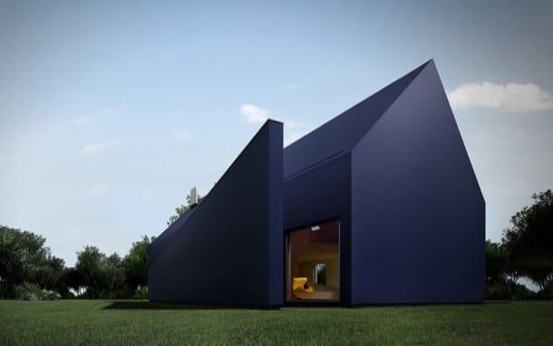 L House: casa de paneles thermopian