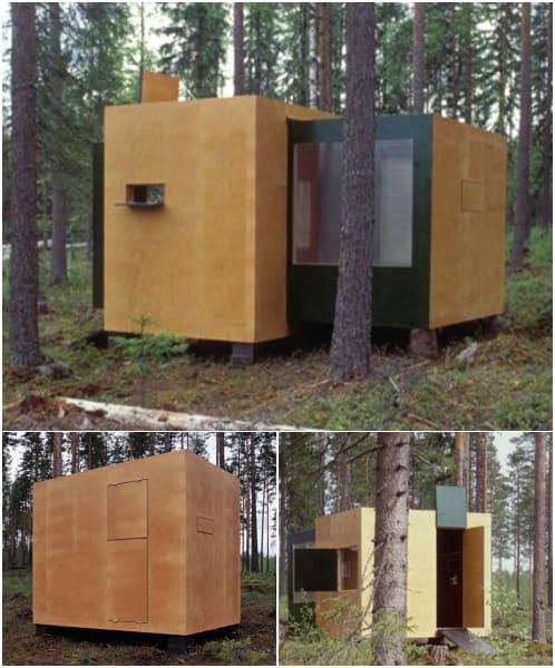 Summer-Container refugio prefabricado móvil y expandible