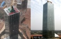 T30 torre prefabricada de 30 pisos