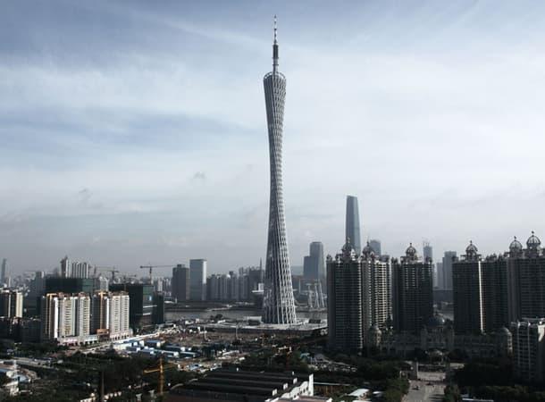 Torre de comunicaciones de Cantón