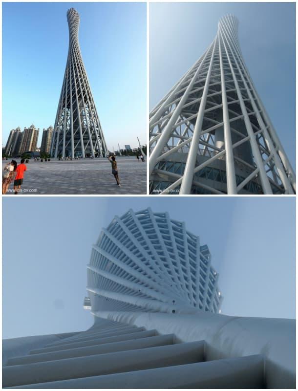 Torre retorcida de Cantón