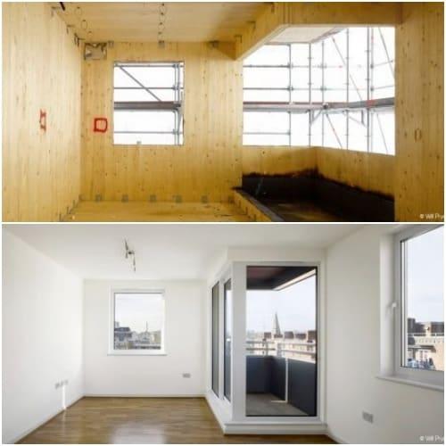 interior bloque apartamentos Murray Grove