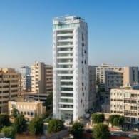 panoramica bloque pisos oficinas White Walls