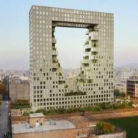 render torre residencial Vandad Mashhad