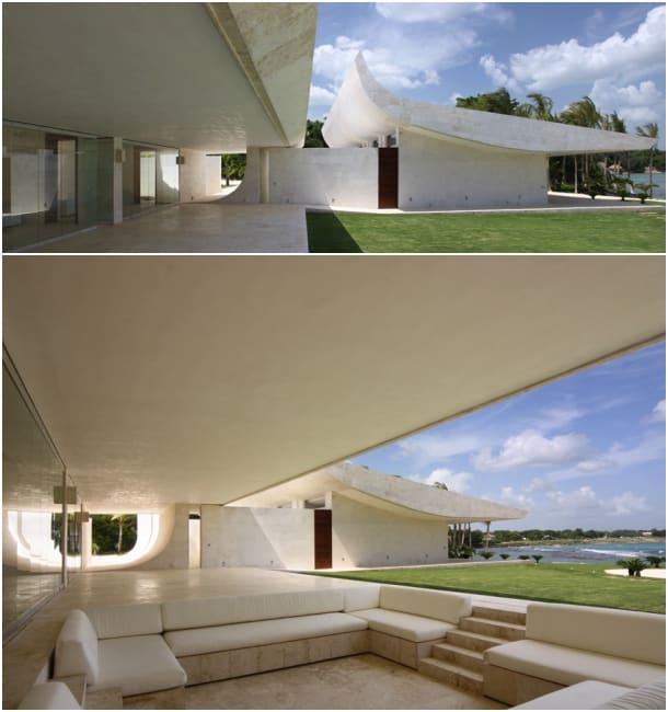 terraza jardin vivienda de lujo en Casa de Campo