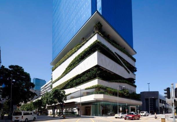 18 Kowloon East: torre con jardines para Hong Kong