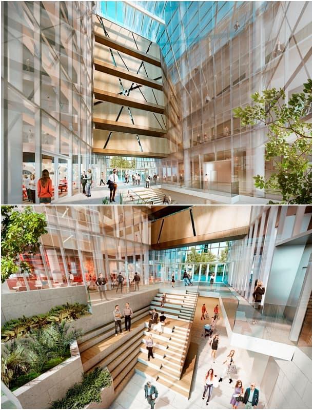 torre K18B interior Daniel Libeskind