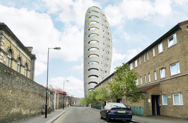 The Beacon: torre de apartamentos para Londres
