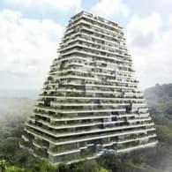 torre piramidal Merida Mexico