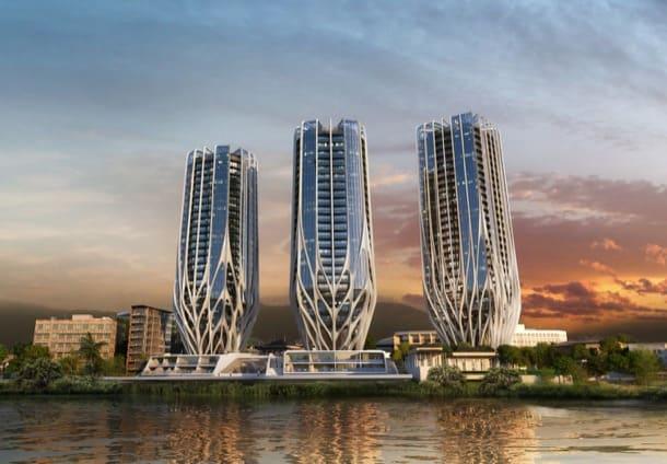 Grace On Coronation: bloques de apartamentos de Zaha Hadid