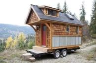 Acorn House casa diminuta sobre ruedas