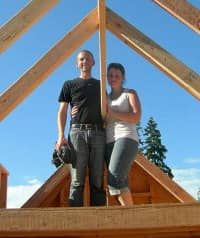 Chris Malissa construyeron la Tack House