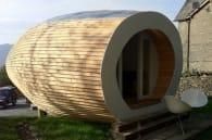 Glampod casa diminuta prefabricada de madera
