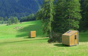 Refugios con el módulo LeapNest, de LEAPfactory