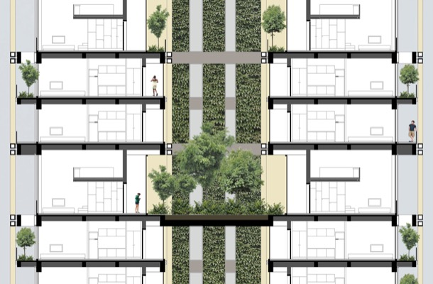 NEF Flats 163 Estambul - jardin vertical