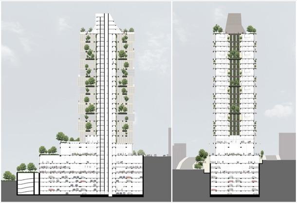 NEF Flats 163 Estambul - secciones