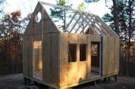 Pine Top casa diminuta autconstruida